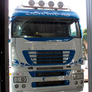 Rotulación de camiones en Reus