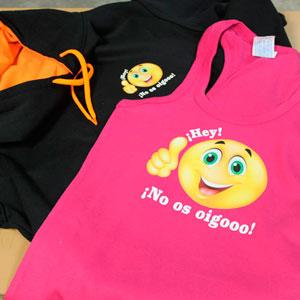 camiseta y sudadera personalizada