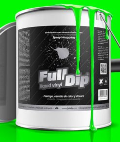 FULL DIP 4L VERDE MONSTER FLUOR