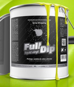 FULL DIP 4L AMARILLO METALIZADO