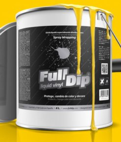 Full Dip Bote 4l. amarillo mate
