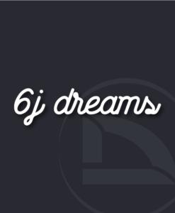 vinilo 6j dreams