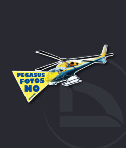 Pegatina PEGASUS-02