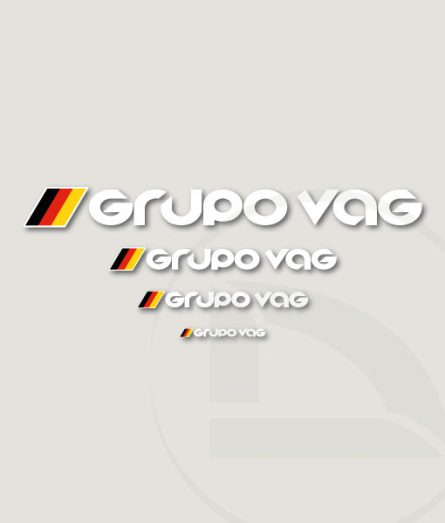 Pegatinas sticker vinilos Grupo Vag