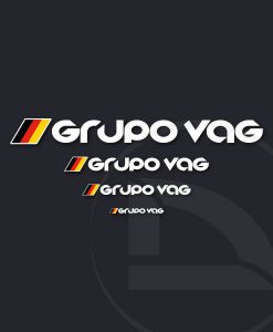 pegatina vinilo sticker GRUPO VAG