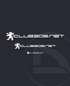 pegatina club306