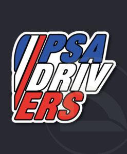 Pegatina PSA DRIVERS