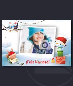 Postal de Navidad infantil