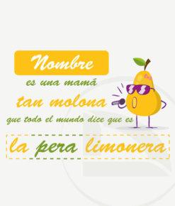 diseño mamá pera limonera