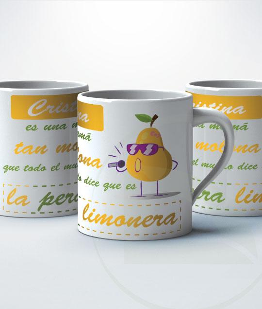TAZA mamá pera limonera