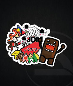 Vinilo eat sleep JDM pegatina vinilo sticker bomb adhesivo