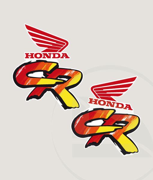 Kit De Pegatinas Para La Honda CR Del 1991 DIAR