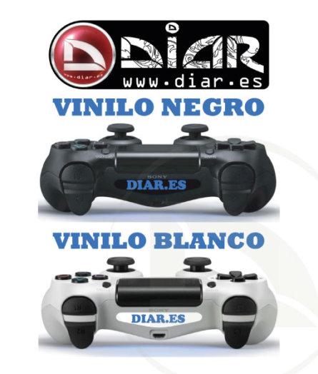 Vinilo Luz Led mando PS4