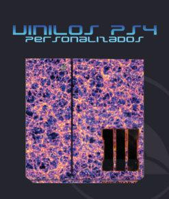 Vinilo consola ps4 camuflaje Materia Oscura