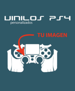 Vinilo skin mando completo PS4 personalizado