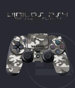 Vinilo skin mando PS4 camuflaje urbano